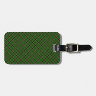 Murphy Clan Tartan Irish Designed Print Travel Bag Tags