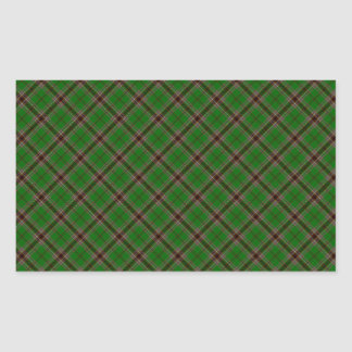 Murphy Clan Tartan Irish Designed Print Rectangular Sticker