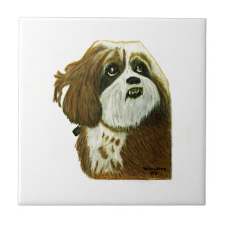 MURPHY doggie jGibney The MUSEUM Zazzle Gifts Ceramic Tiles