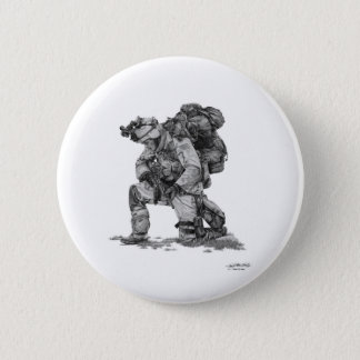 Murphy Elliott-Praying Soldier 6 Cm Round Badge