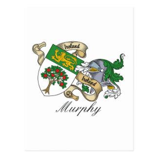 Murphy Family Crest Postcard
