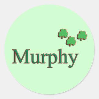 Murphy Family Round Sticker