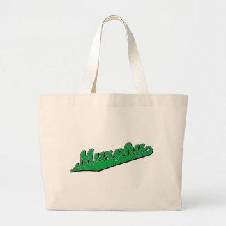 Murphy in Green Bags
