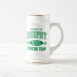 Murphy Irish Drinking Team Beer Steins