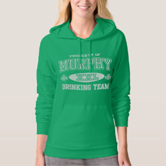 Murphy Irish Drinking Team Hoodie