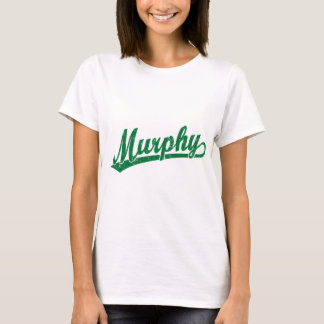 Murphy script logo in green T-Shirt