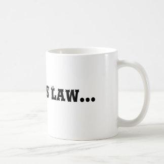 Murphy's Law... Coffee Mug