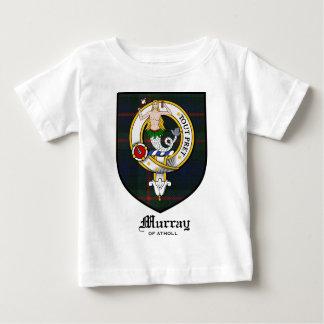 Murray Clan Crest Badge Tartan T Shirts