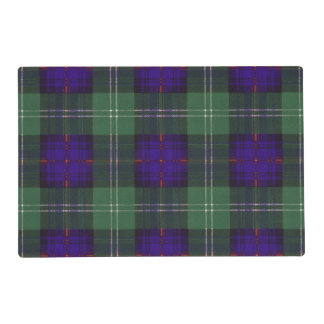 Murray of Atholl clan Plaid Scottish kilt tartan Laminated Placemat
