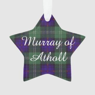 Murray of Atholl clan Plaid Scottish kilt tartan Ornament