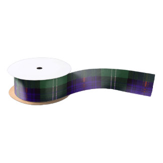 Murray of Atholl clan Plaid Scottish kilt tartan Satin Ribbon