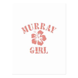 Murray Pink Girl Postcards
