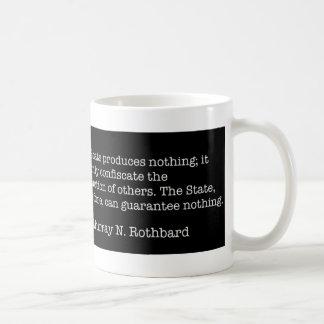Murray Rothbard Basic White Mug
