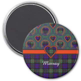 Murray tartan scottish plaid magnet