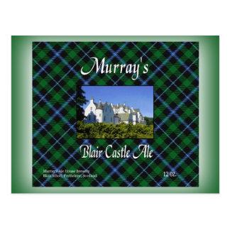 Murray's Blair Castle Ale Postcard