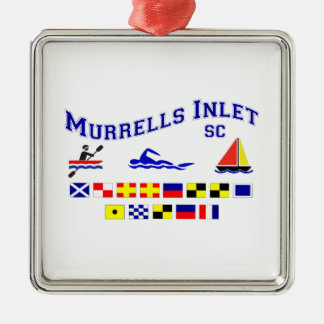 Murrells Inlet SC Signal Flags Christmas Ornament