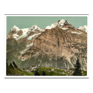 Murren, general view, Bernese Oberland, Switzerlan Postcard