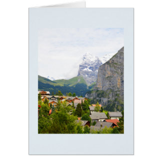 Murren in Switzerland Card