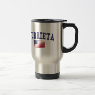 Murrieta US Flag Stainless Steel Travel Mug