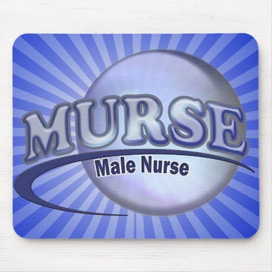 MURSE LOGO (MALE NURSE) MOUSE MAT