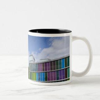 MUSAC, contemporary art museum 2 Two-Tone Coffee Mug