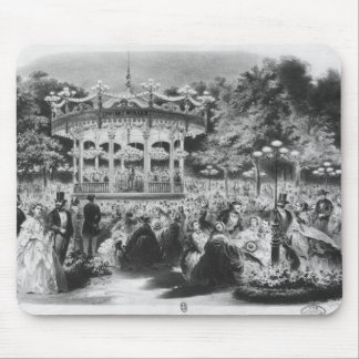 Musard concert at the Champs-Elysees, 1865 Mouse Pad