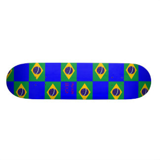 Musashi Designs Brasil Skateboard Deck