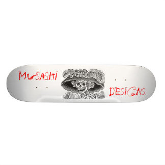 Musashi Designs Dem Bones 20 Cm Skateboard Deck