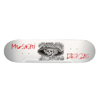 Musashi Designs Dem Bones Skateboard Deck