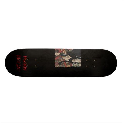 Musashi Designs Samurai Custom Skate Board
