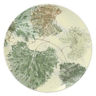 Muscat Grape Leaves Plate