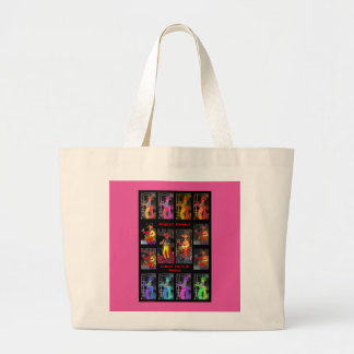 Muscat Ramble and Coolie Hats and Masks Jumbo Tote Bag