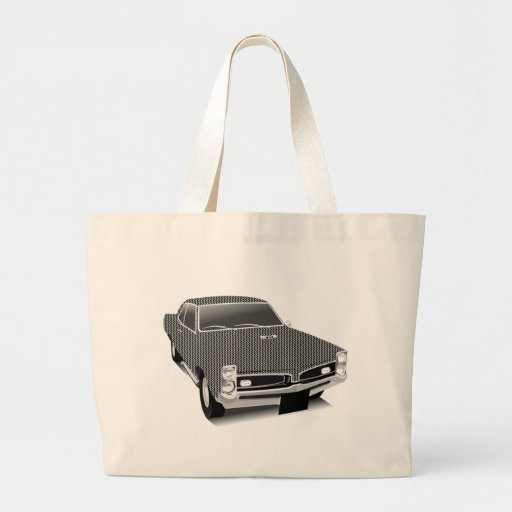 Muscle car canvas bags