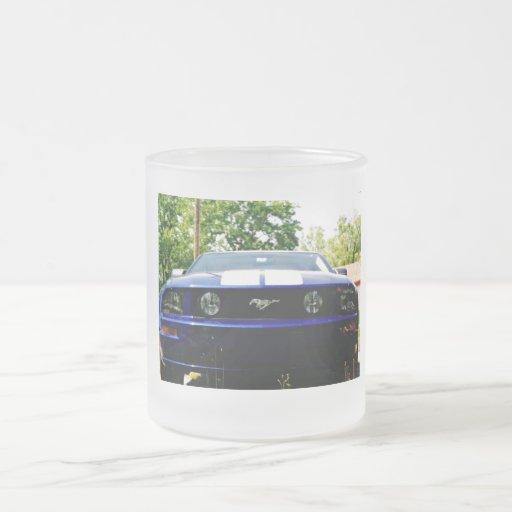 Muscle car- blue Mug