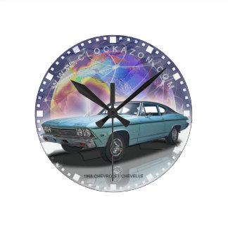 Muscle Car Decorative Wall Clock