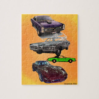 muscle car jigsaw by highsaltire jigsaw puzzle