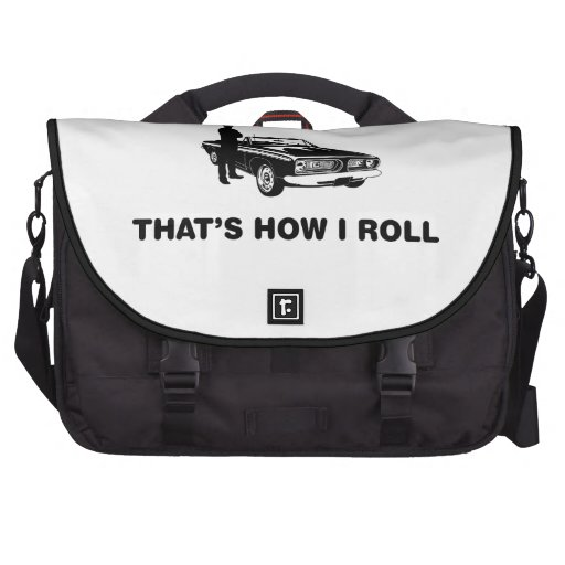 Muscle Car Lover Commuter Bag