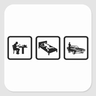 Muscle Car Lover Stickers