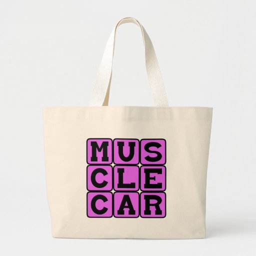 Muscle Car, Revving The Engine Tote Bag