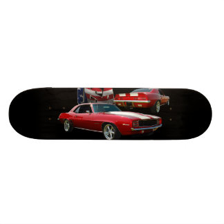Muscle car skate board
