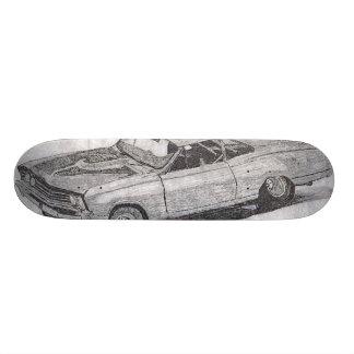 MUSCLE CAR SKATEBOARD