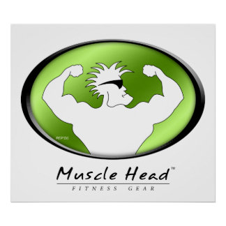 Muscle Head Print