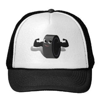 Muscle Man Hockey Puck Trucker Hat