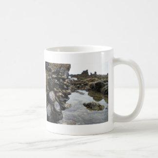 Muscles and Rocks on Newport Beach Coffee Mug