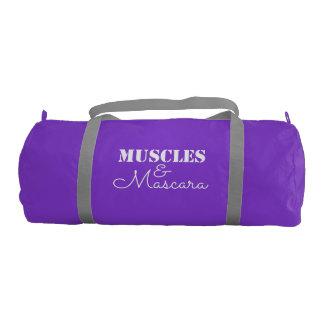 Muscles & Mascara Gym Duffle Bag