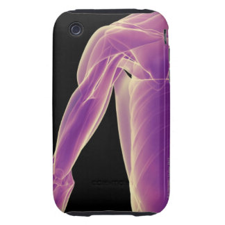 Muscles of the Shoulder 3 Tough iPhone 3 Cover