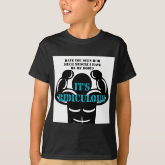muscles so strong it's ridiculous funny tees