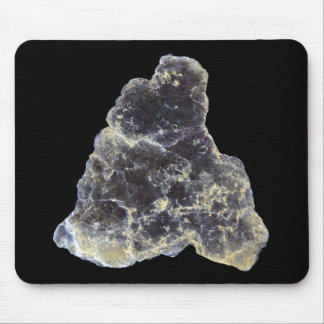 Muscovite Mica Photo on Black Mousepad