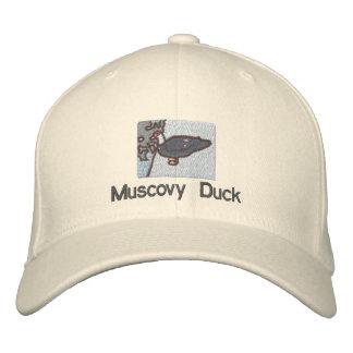 Muscovy duck hat baseball cap