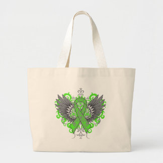 Muscular Dystrophy Awareness Wings Tote Bag